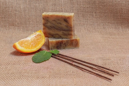 Burnt Orange Patchouli (Vegan All Natural Soap)