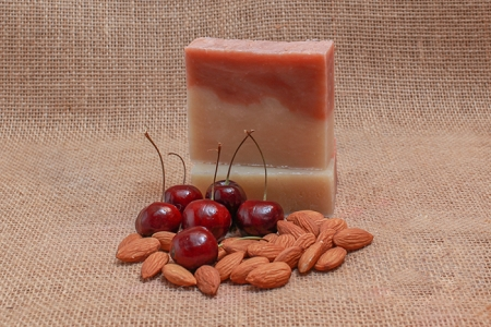 Cherry Almond Soap Bar (Vegan)