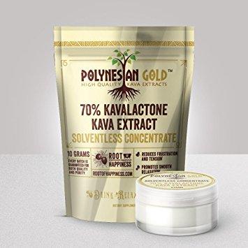 Polynesian Gold Noble 70% Kavalactone Paste (10 grams)