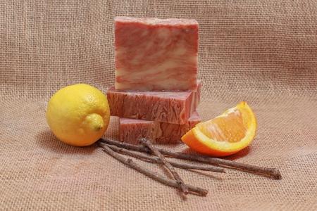 Citrus Cedar & Sage Soap (Vegan All Natural)