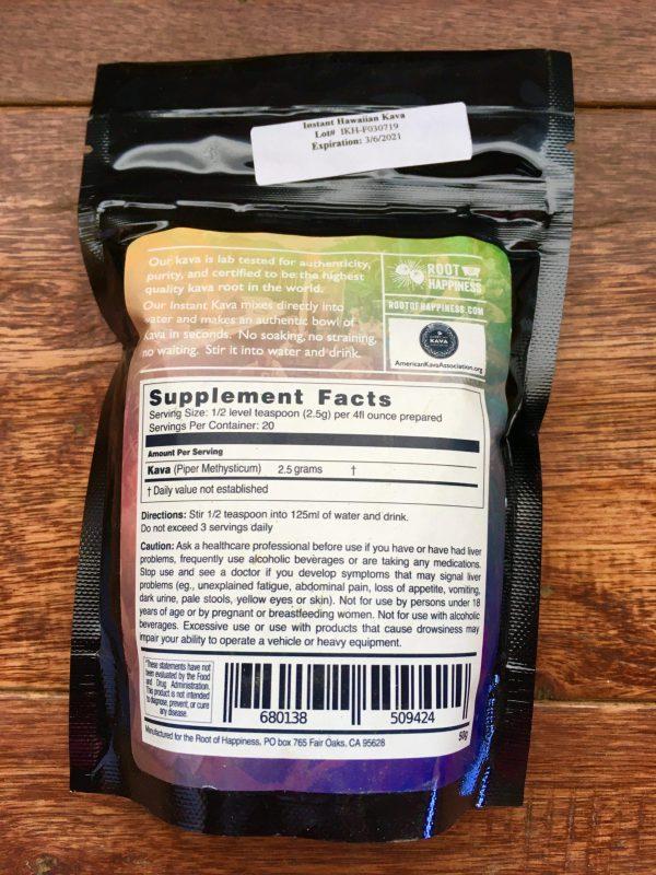 50 grams Premium Instant Hawaiian Kava
