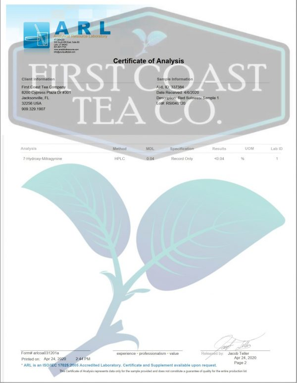 Red Sulawesi Herbal Tea