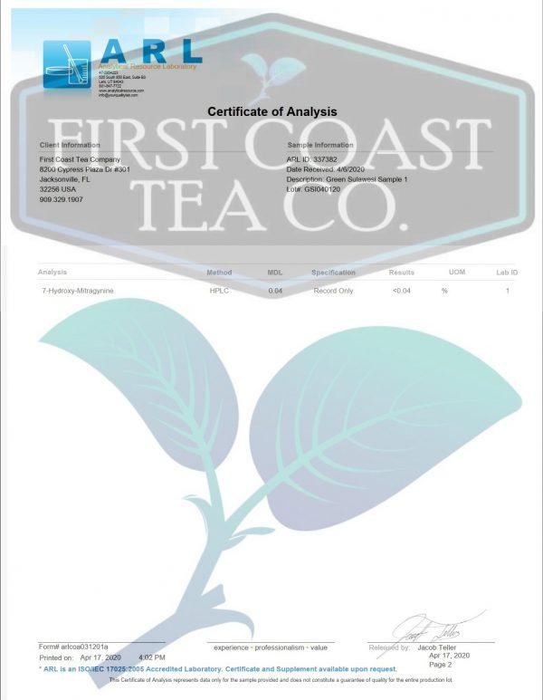 Green Sulawesi Herbal Tea