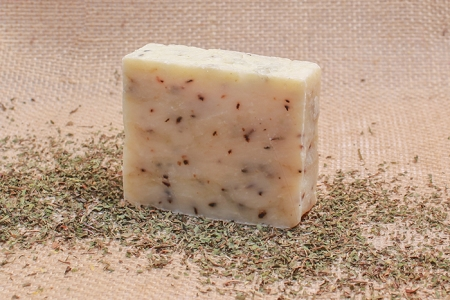 Organic Peppermint & Tea Tree Soap (Vegan All Natural)